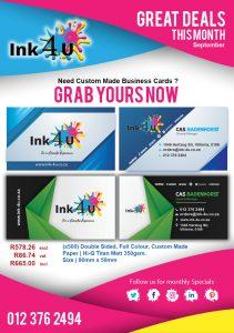 Need a Custom Business Card Design?