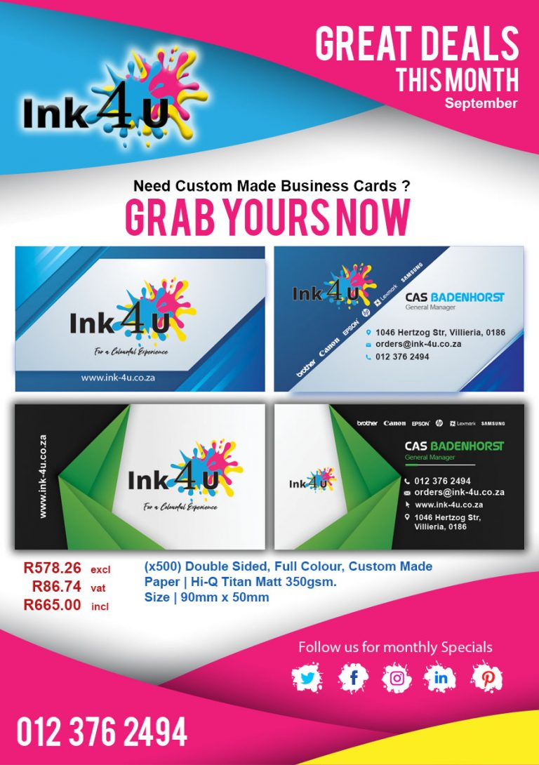 Need a Custom Business Card Design?