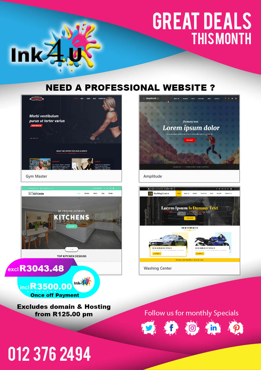 Need a Professional Website ?