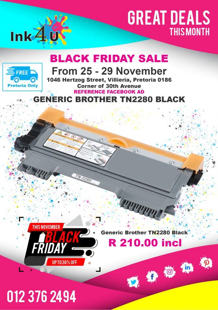Black Friday sale at ink4u printer cartridge shop near me