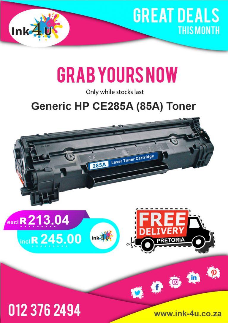 Generic HP 85A (CE285A) Black Toner Special