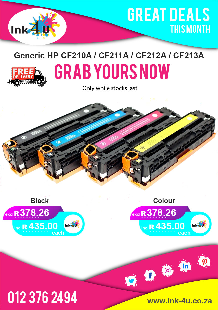 Save More On Generic Cartridges and Toners 💵