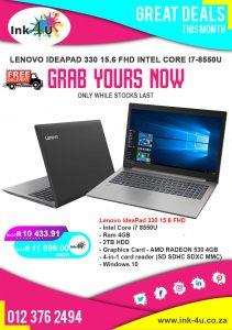 Lenovo IdeaPad 330 15.6 FHD Intel Core i7-8550U