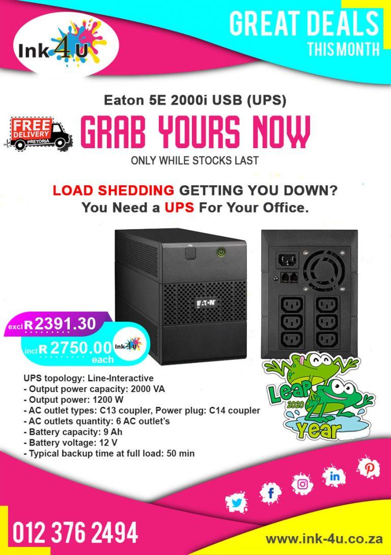 Eaton 5E 2000i USB (UPS)