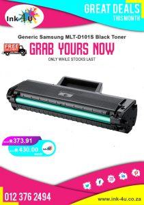 Generic Samsung MLT-D101S Black Toner
