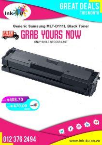 Generic Samsung MLT-D111L Black Toner