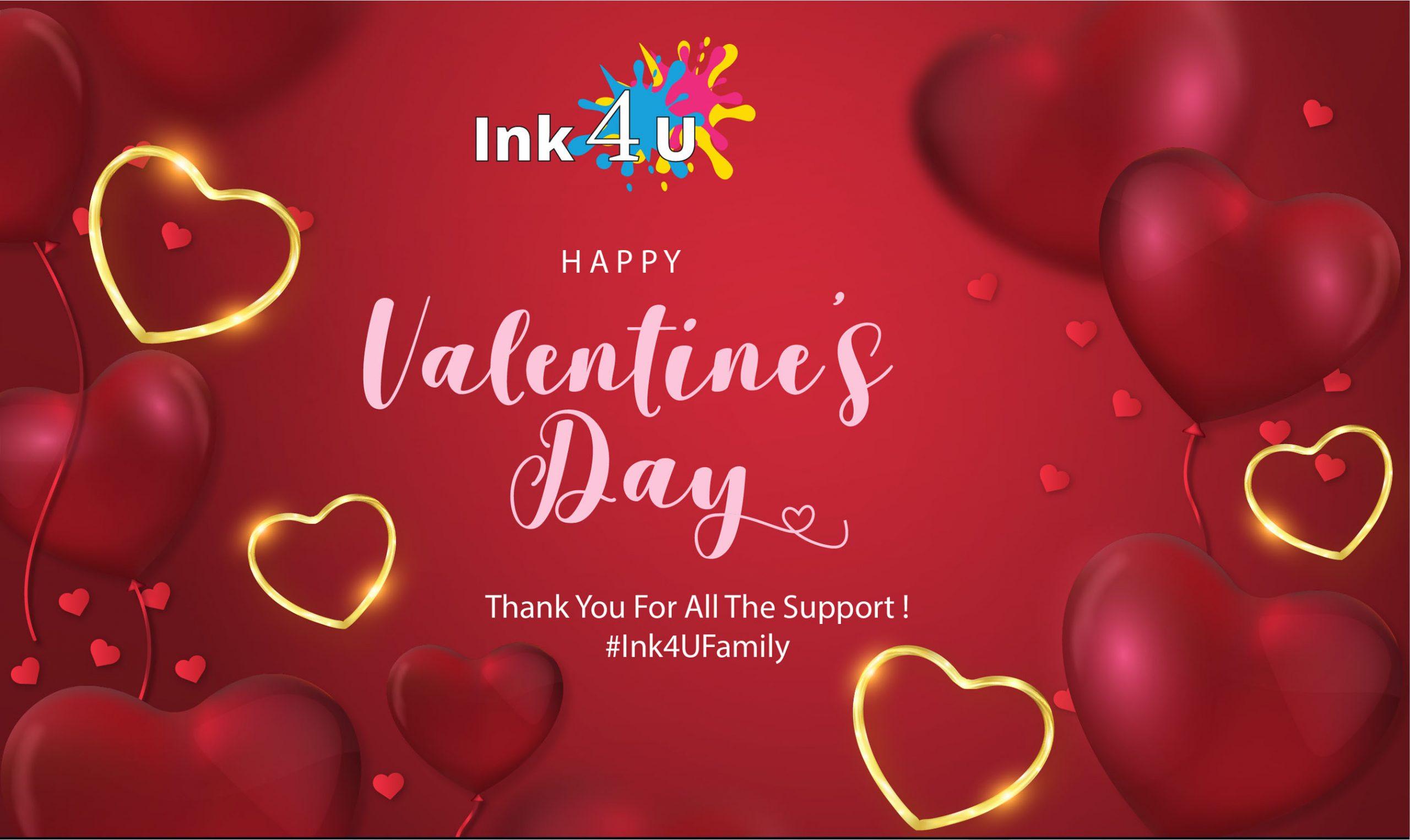 Happy Valentine's Day 14 February 2020