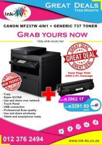 Canon MF237W All in One Printer