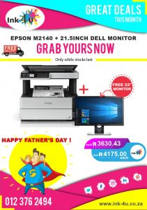 EPSON M2140+ 21.5INCH DELL MONITOR BUNDLE